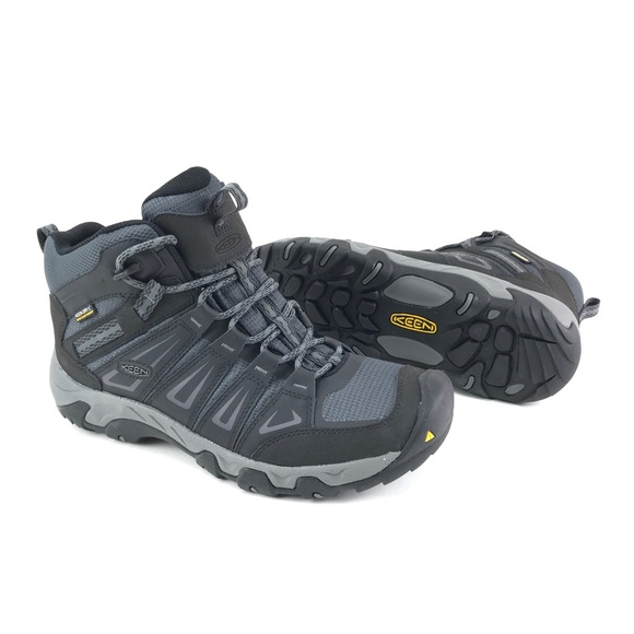 6d550f3029c9 Keen Mens Oakridge Mid WP Hiking Boots Sizes 10-11